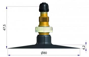 Вентиль тракторный камерный  Cold S-4047-1
