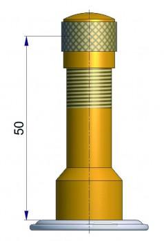 Шланговый вентиль TRJ 1014 R-0770-1